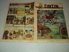 TINTIN 1947/31 (31/7/47) EDGAR P JACOBS LE SECRET DE L'ESPADON HERGE