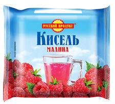 Kissel Кисель dry briquet Russian Dessert Jelly Drink Raspberry