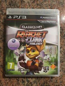 Classic HD The Ratchet & Clank Trilogy PS3 ITA in Italiano Completo come nuovo