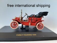 """1/43 o ixo CLC001 Ford T """"Touring"""" Open Roof  1909 Carmine Red"""