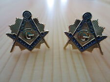 Masonic Cufflinks C02 Mason Freemason