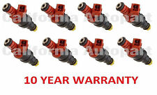 8x OEM Bosch Fuel Injectors for 93-98 BMW 740i/740iL/840Ci/530i/540i 3.0 4.0 4.4