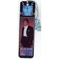 Quantum Leap Tv Show Logo & Sam Photo Tasseled Laminate Bookmark 1989 New Unused