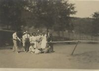 Snapshot Tennis Fotografia Anonimo Vintage Analogica PL34L2P12