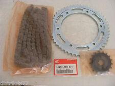 kit chaine HONDA XLR  XL125R    1998-02  17 X 51 piece origine ref:06406-KCM-621