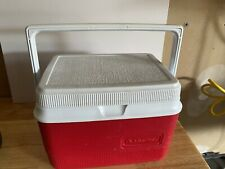 Rubbermaid Gott Personal Lunch Box 1907/1927 Cooler Picnic Work Job Small Red