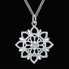 cute Silver jewelry fashion women wedding LADY Charms necklace beautiful nice