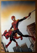 Deadpool Spider-Man Marvel Comic Poster by Mike McKone