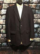 Jos A Bank Navy blue blazer 2 brass btn jacket 42L Tall 1PC