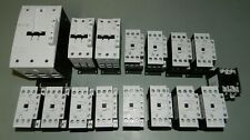 Mixed Lot of 16 Eaton Moeller Contactors DILM115 DILM50 DILM32-10 DILM25-10 +++