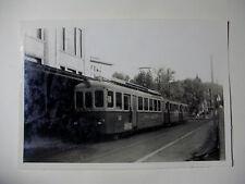 SUIS521 - 1950s ST GALLEN SPEICHER TROGEN BAHN Railway TRAIN PHOTO Switzerland