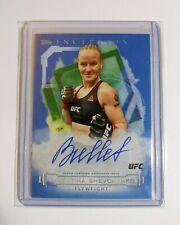 Valentina Shevchenko UFC Inception Autograph, 2020 Topps UFC Auto, MMA Cards /25