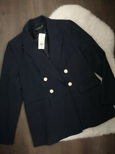 Brand New Size 14 Dorothy Perkins Double Breasted Blazer Jacket
