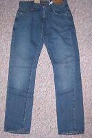 Men's LEVI'S Blue Denim 511 Skinny Extra Slim Fit Straight Leg Jeans 33 x 32 NWT