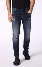 Diesel THOMMER CB-NE 0686W Blue Jeans Sweatpants Skinny Low W28 100% Genuine