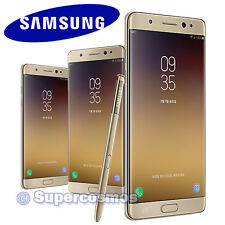 "☑️✅ SAMSUNG GALAXY NOTE 7 FE GOLD 64GB SM-N935 2560x1440 5.7"" UNLOCKED PHONE ✅☑️"