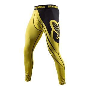 Compression pants Hayabusa Recast Yellow/Black men sport
