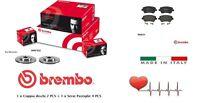 09907810-P68033 Dischi + pastiglie freno anteriori BREMBO Renault CLIO III