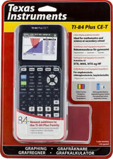 Texas Instruments TI-84 Plus CE-T Graphic Calculator (New)