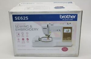 ✓ NEW In Box! Brother SE625 Computerized Sewing and Embroidery Machine FREE SHIP