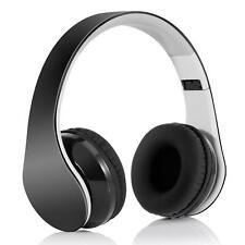 WIRELESS HEADPHONES OVER EAR EARPHONES SOUND W MIC FOLDABLE X7I for Smartphones