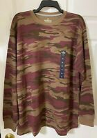 NWT Men's Outdoor Life Field Thermal Crew Camo size XL