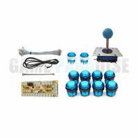 Zero Delay Arcade USB Control Parts Kit DIY USB Encoder 1 Joystick 10 LED button