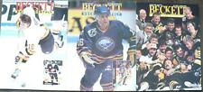 1992 Beckett Hockey Monthly Price Guide Magazine - March, July, & Aug,