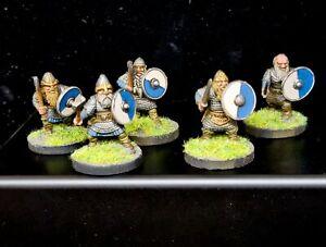 Oathmark Dwarf Painted X 5 Saga Dwarves D&D