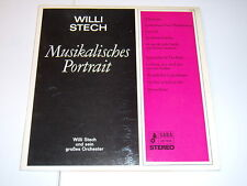 Willi Stech - Musikalisches Portrait SABA  alt -- Vinyl/ Cover:mint(-)