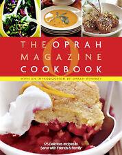 THE OPRAH MAGAZINE COOKBOOK HARDCOVER NEW