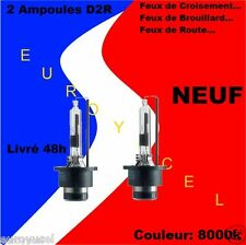 2 Ampoules Blanc Xenon D2R 35W 8000K NEUF Peugeot Renault Audi BMW Mercedes