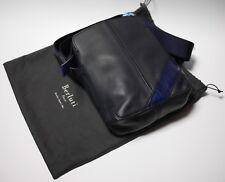 Berluti Monolithe Small Leather Shoulder Bag Navy Blue RP 2000$