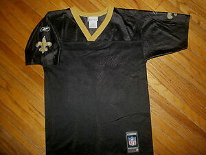 NEW ORLEANS SAINTS R WILLIAMS 34 JERSEY Ricky Football Blank Front Reebok YOUTH