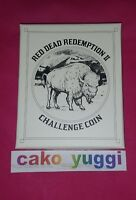 RED DEAD REDEMPTION 2 COLLECTORS BOX  BUFFALO CHALLENGE GOLD COIN NEUF SCELLE