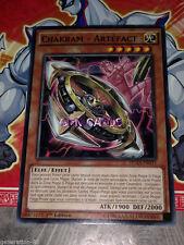 Carte YU GI OH CHAKRAM - ARTEFACT DUEA-FR033 x 3