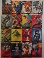 1995 Fleer Ultra X-Men Marvel Complete Base Set 150 Rare Wolverine Xmen Vintage!