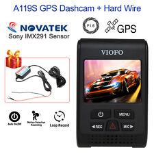 "ViofoA119S Car Dash Camera 2"" LCD Screen DVR G-Sensor + GPS Module+ Hardwire Kit"