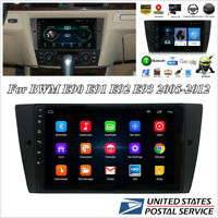 9'' 1080P Touch Screen Stereo Radio GPS Navigation WiFi w/Canbus For BMW E90 E91