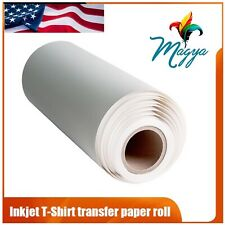 Light Fabrics Ink Jet Heat Transfer Paper Roll 24x50 Made In Usa Free Delivery