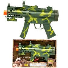 "Military Combat 15"" Rifle Machine Toy Gun For Kid Boys Christmas Birthday Gift"