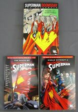 The Death of Superman World without & Doomsday the Aftermath SC Graphic Novels