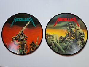 Metallica – Masters of Evil. 2x Picture LP Vinyl. LIVE 87 Hamburg . RAR.