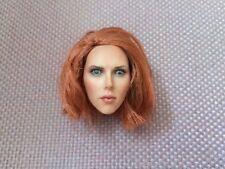 1/6th Scarlett Black Widow Version 1 With Red Short Hair Head Sc 00006000 ulpt