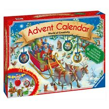 NEW Ravensburger Advent Calendar World of Creativity 24 Surprise Activities