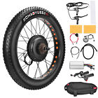 New 48V 1500W Ebike Front Wheel Electric Bicycle Motor Conversion Kit Motor Hub