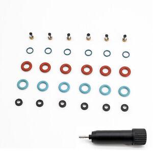 6 Set Fuel Injector Repair Seal Kit For 2005 2006 2007 Honda Accord FJ929 FJ815