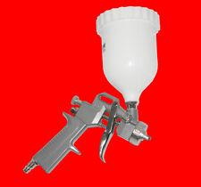Druckluft Spritzpistole Ø 1,5mm/680ml Lackierpistole Sprühpistole mit Zertifikat