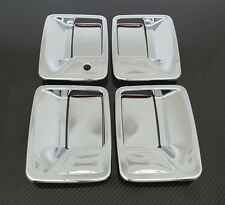 99-15 Ford Super Duty+Excursion Chrome 4 Door Handle w/o passenger keyhole Cover
