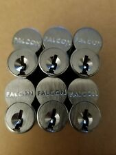 LOT OF 6 BLANK  IC Core Lock cylinder for FALCON C646 H 626 SFIC H Keyway  6 pin